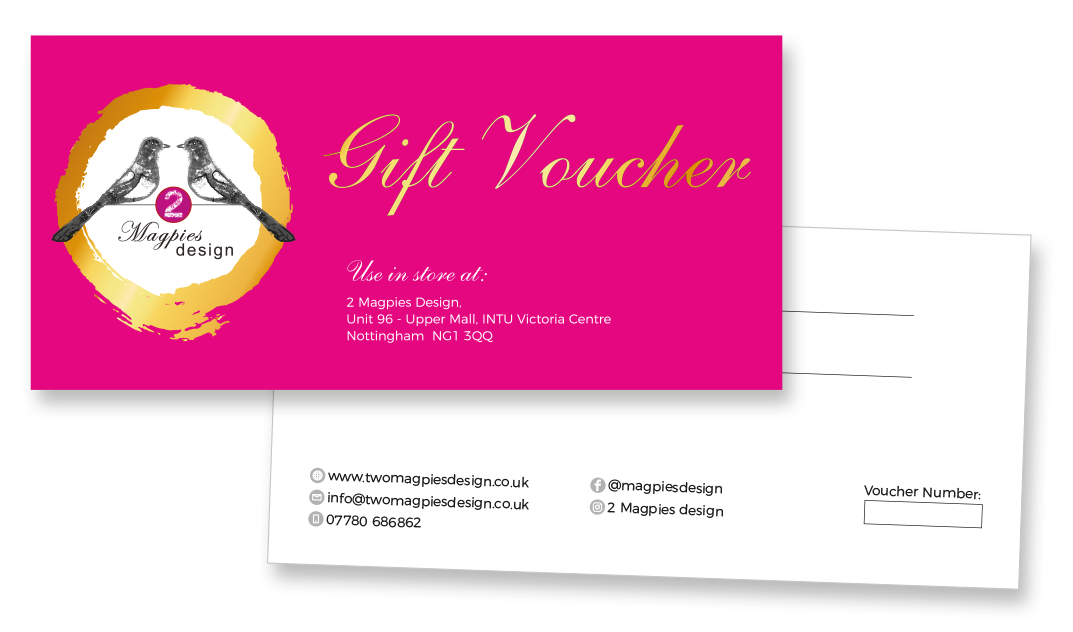 2Magpies Gift Voucher