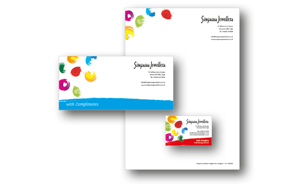Harlequin Colour Print - Business Stationery