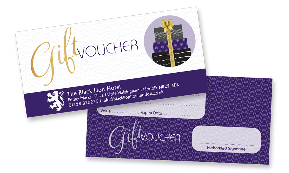 Harlequin Colour Print - Gift Vouchers